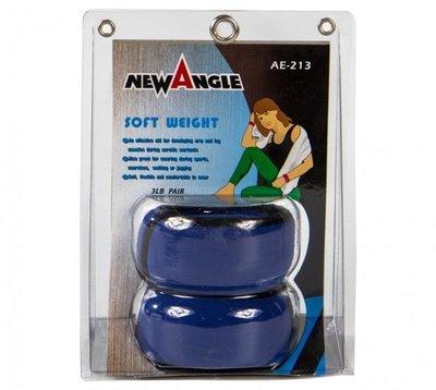【H.Y SPORT】NEW ANGLE  AE-213 手腕砂包組/甜甜圈/手腕加重器 3磅 三磅(台灣製造)