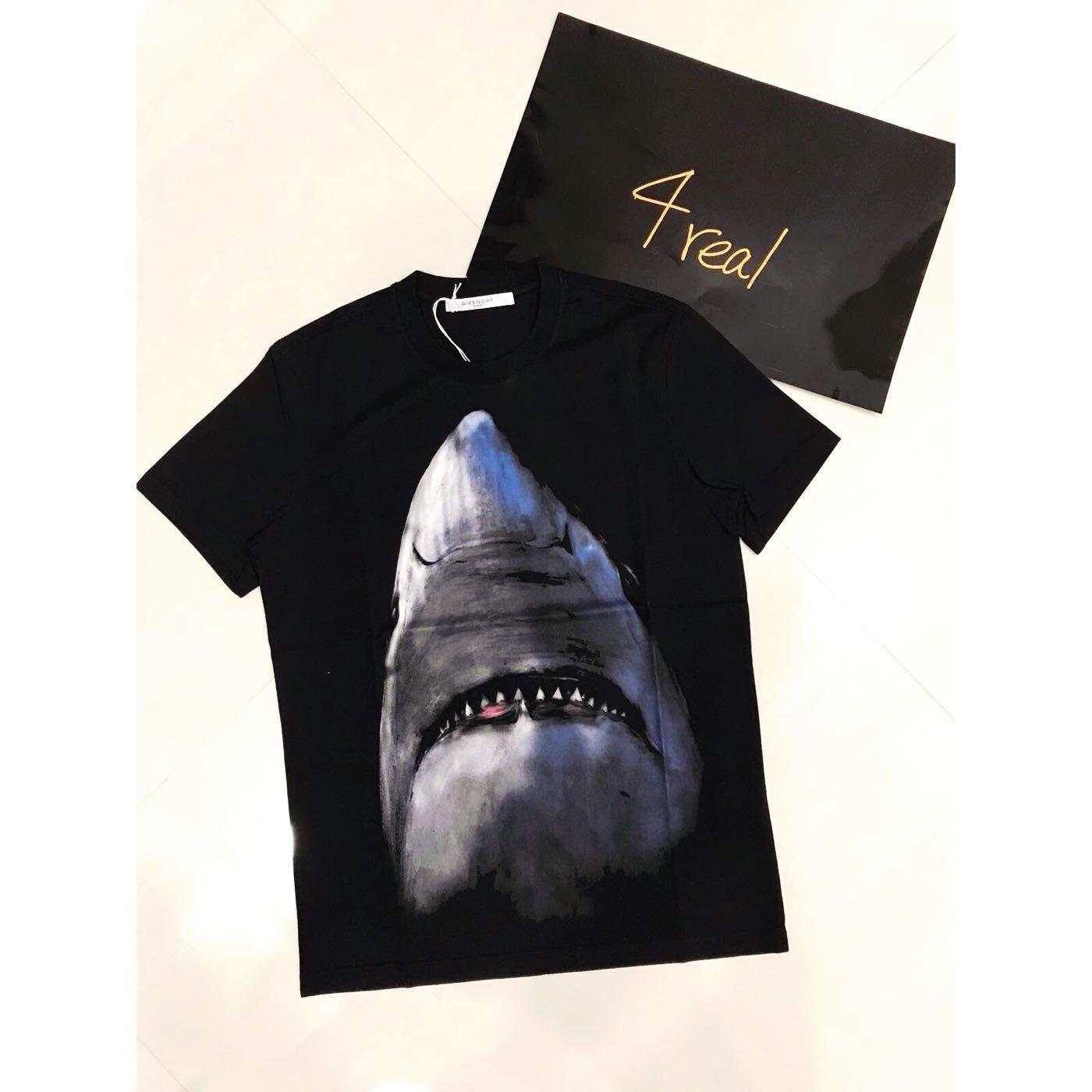 [4real]Givenchy 鯊魚短袖 經典必備