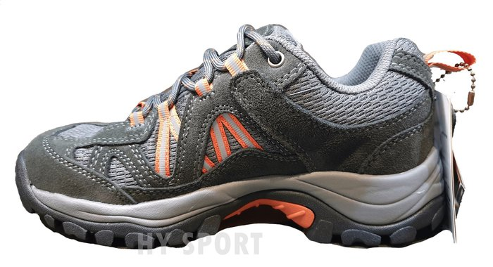 【A' SPORT】 玉山YuShan GORE-TEX 短統全功能戶外鞋/登山鞋/健步鞋 D21  (深灰/橘)