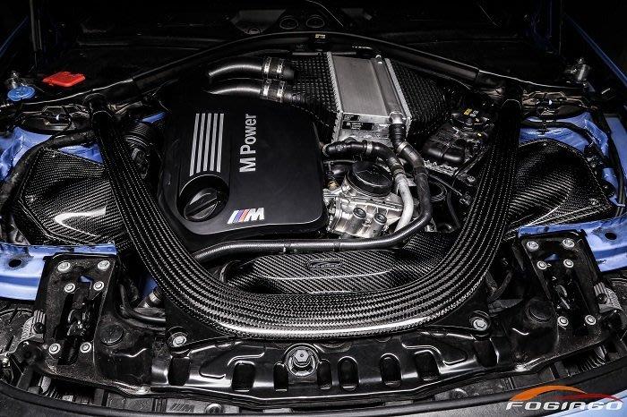 ☆光速改裝精品☆Fogiago BMW F80 M3 F82 M4 3.0T 碳纖維進氣套件