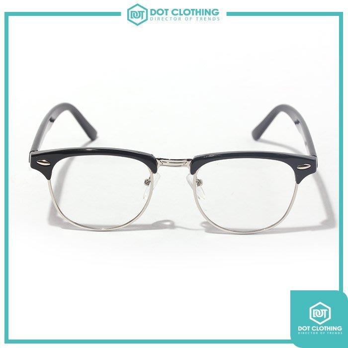 DOT聚點 第二支半價 台灣潮流品牌 時尚 近視眼鏡 半邊框 方框 日系 金屬 韓星 GD 張家輝