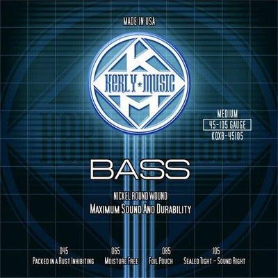 ☆ 唐尼樂器︵☆ Kerly Strings 冰火弦 KQXB-45105 (45-105) 美製 Bass 電貝斯弦(4弦/四弦用)