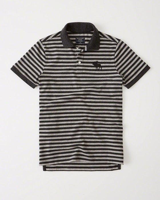 Abercrombie & Fitch Polo衫 121-224-0864-104 MY-麋鹿 全新真品 HCO AF