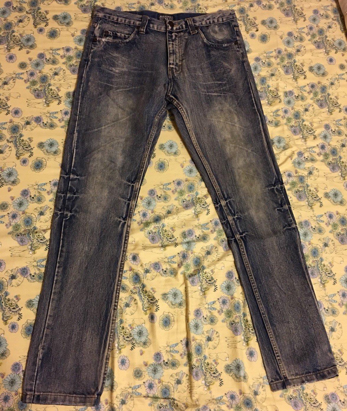 優質古著 美國 經典老牌 Dickies 星際大戰 聯名款 窄版 破壞 牛仔褲 SIZE 32
