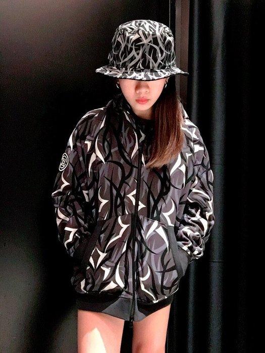 玉米潮流本舖 CLOT BLACK EGRA L/S PARKA CLHD17FAL301 限量 黑荊棘連帽面具外套