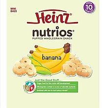 【藍色腳丫台中可面交】Heinz亨氏寶寶小花餅 南瓜口味 香蕉口味 嬰幼兒餅乾 寶寶副食品