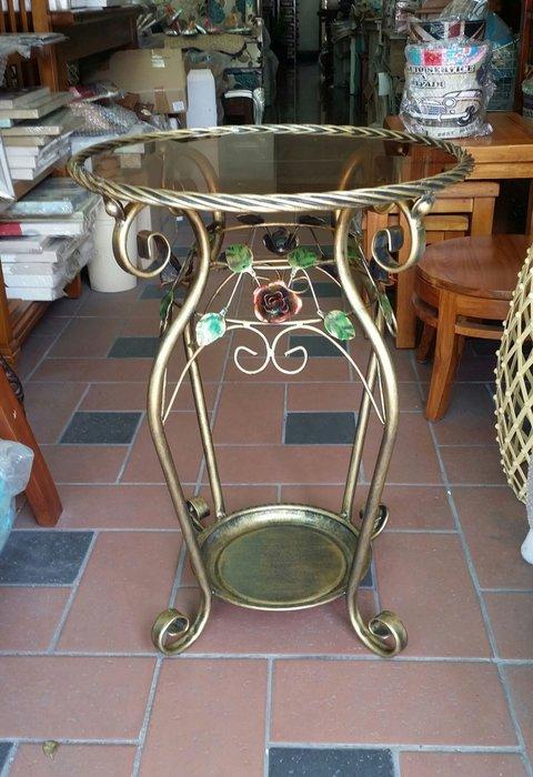 美生活館三館玫瑰鍛鐵家具--休閒桌椅組/ 洽談桌椅組/小型餐桌椅組--單只 2800元