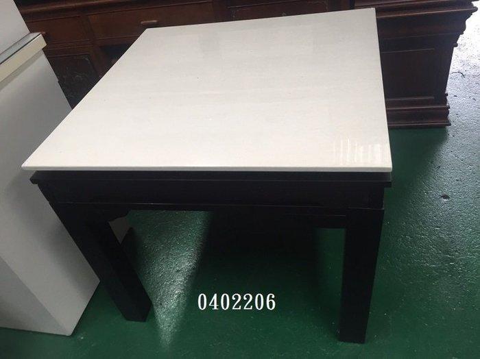 【弘旺二手傢俱】全新/促銷 摩洛哥伸縮正方形石面餐桌 營業餐桌 活動桌 邊桌 茶几-各式新舊/二手家具 生活家電買賣
