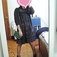 法國娃娃 蝴蝶結星星 細肩帶黑色 洋裝 ~ ~VK MANGO ZARA IROO