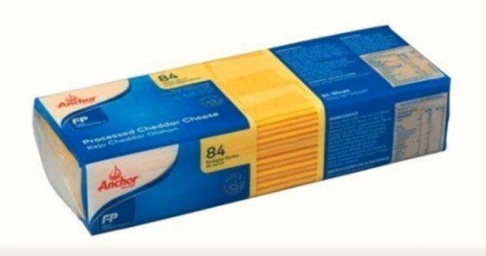 紐西蘭進口~【安佳】切達起司乳酪、起司片、芝士片,84片/包$295~
