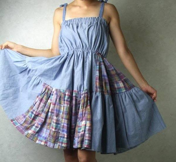 日本購買 牛仔連身裙 洋裝
