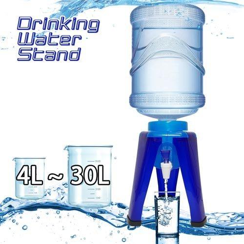 【金德恩】台灣製造 全功能專利製造 桶裝水飲水架 家庭號礦泉水 新式飲水架 輕便水架