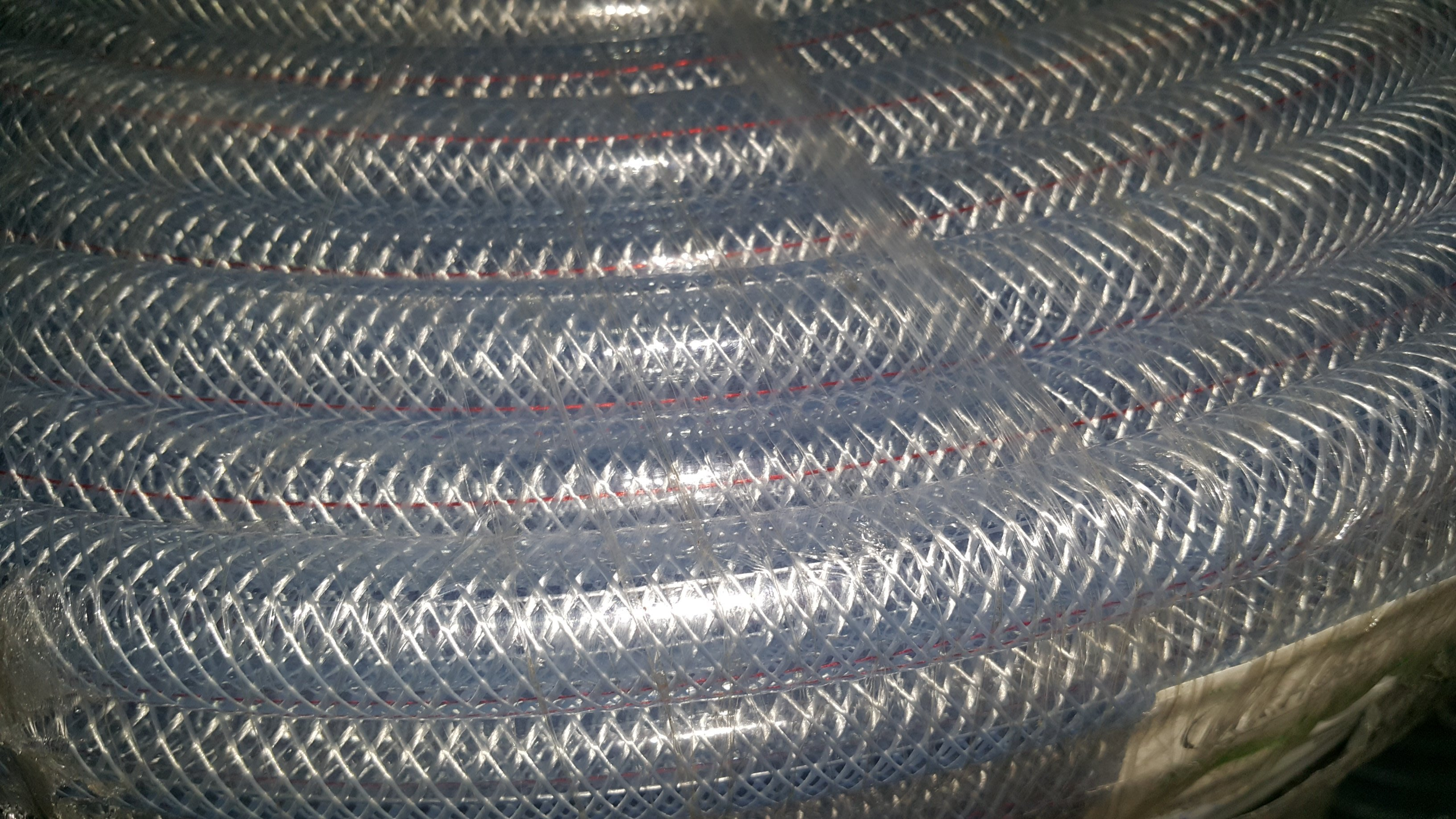 《上禾屋》透明紗管 6分100米/包紗水管/夾紗軟管/耐壓夾網管
