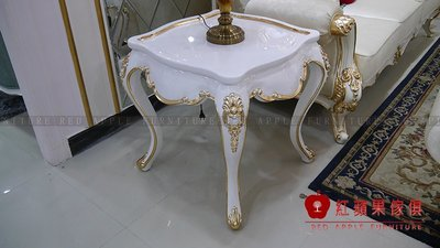 [紅蘋果傢俱] MDS-44 新古典系列 方几 小茶几 小桌子  數千坪展示