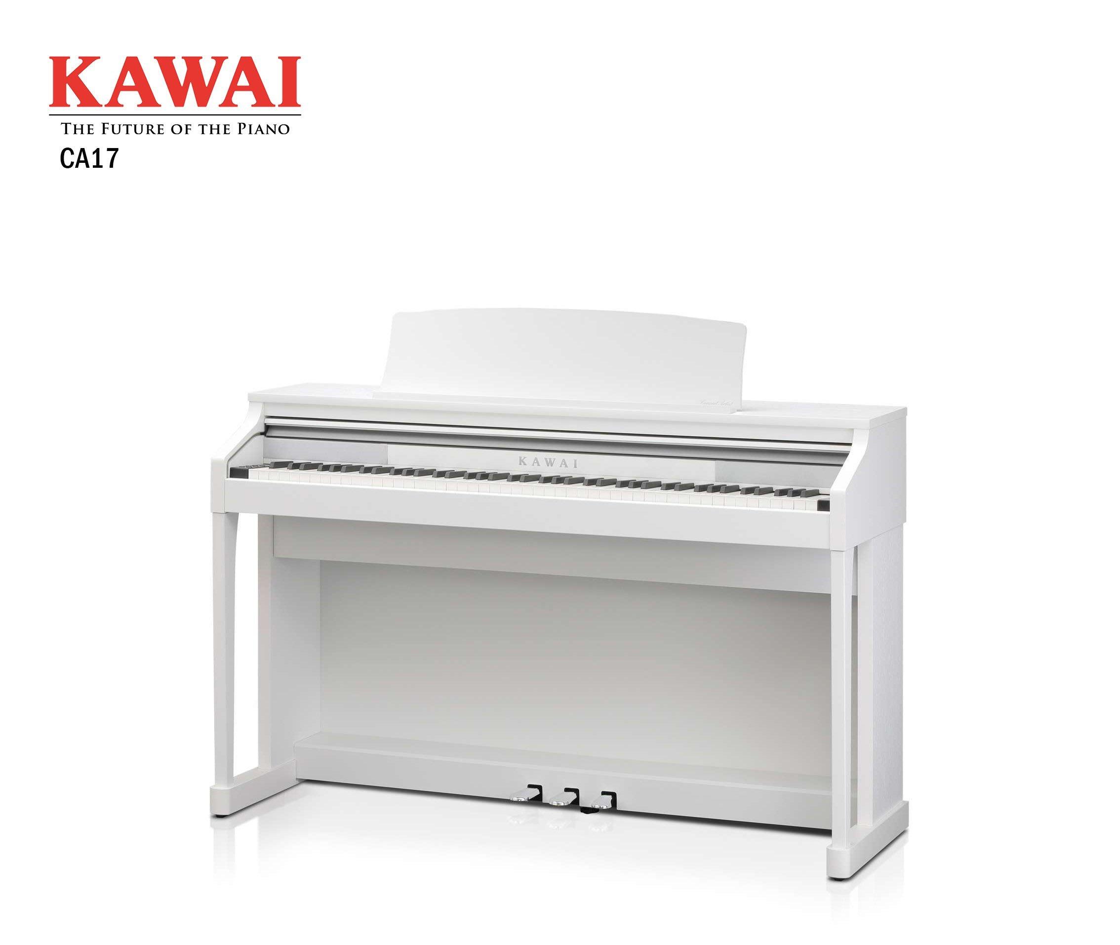 【現代樂器】免運! KAWAI CA-17 88鍵 數位鋼琴 電鋼琴 白色款 公司貨保固 CA17