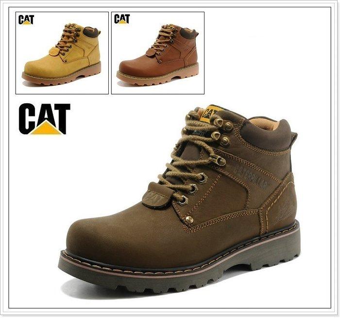 『黑餃ㄇㄇ』【CD003】CAT#7810 高筒戶外登山靴 爬山必備鞋款 古著款 工作鞋