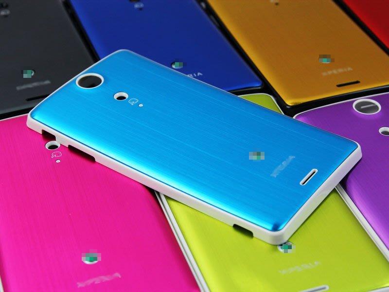 Sony LT29I Xperia TX 副廠 彩色17色可選 金屬拉絲 代用 背蓋 電池蓋 後蓋 保護殼
