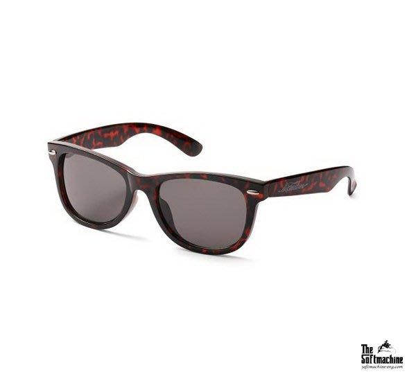 GOODFORIT / 日本品牌Softmachine HIDE Glass威靈頓框型煙燻鏡片太陽眼鏡