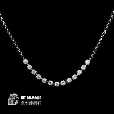 【JHT 金宏總珠寶/GIA鑽石專賣】日本白金鑽墜 含鍊 0.55ct (JB6-8)