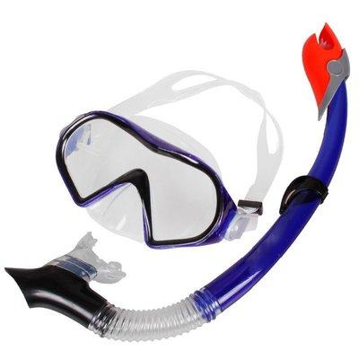 浮潛潛水鏡-全乾式呼吸管-超清鋼化玻璃純硅膠環保超舒適-成人款-現貨或預購MJ9520S 團購批發