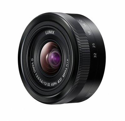 【高雄四海】Panasonic LUMIX VARIO 12-32mm F3.5-5.6全新平輸.一年保固.拆鏡銀黑可選