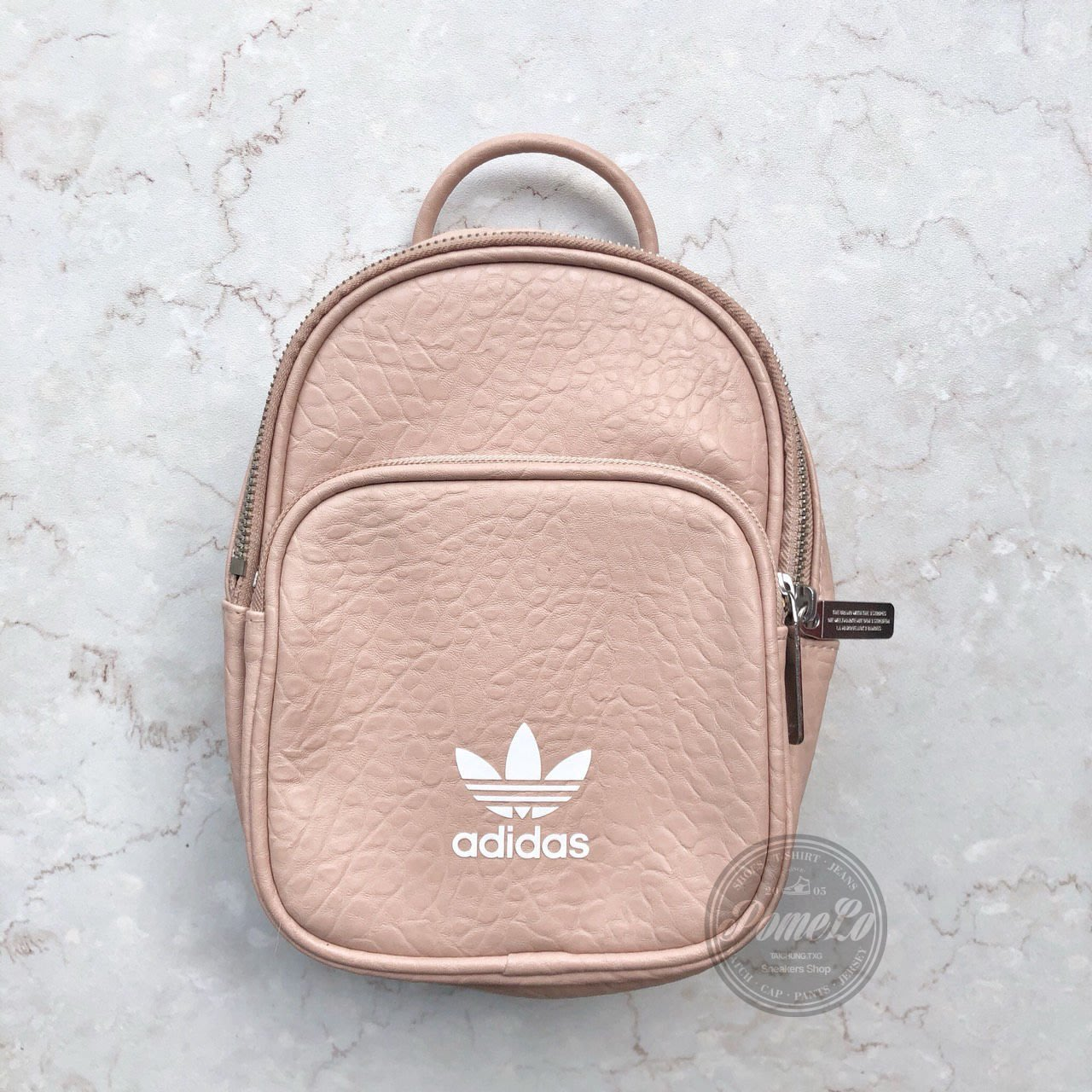 柚子的拍賣 ADIDAS Originals Classic Mini Backpack 粉色 後背小包 CF0060