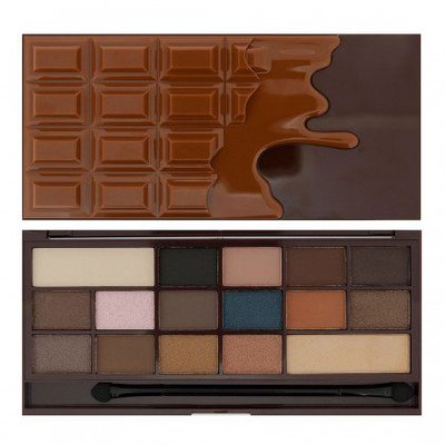 【愛來客】英國Makeup Revolution Chocolate Salted Caramel焦糖巧克力眼影盤