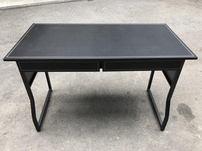 非凡二手家具 全新品馬鞍皮U型腳4尺寫字桌*書桌*工作桌*辦公桌*讀書桌*美甲桌*電腦桌*會計桌*事務桌*洽談桌