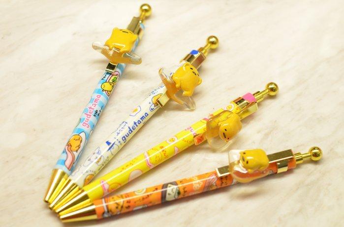 尼德斯Nydus~* 日本正版 三麗鷗 蛋黃哥 療癒系 辦公室小物 原子筆 約14cm 共4款