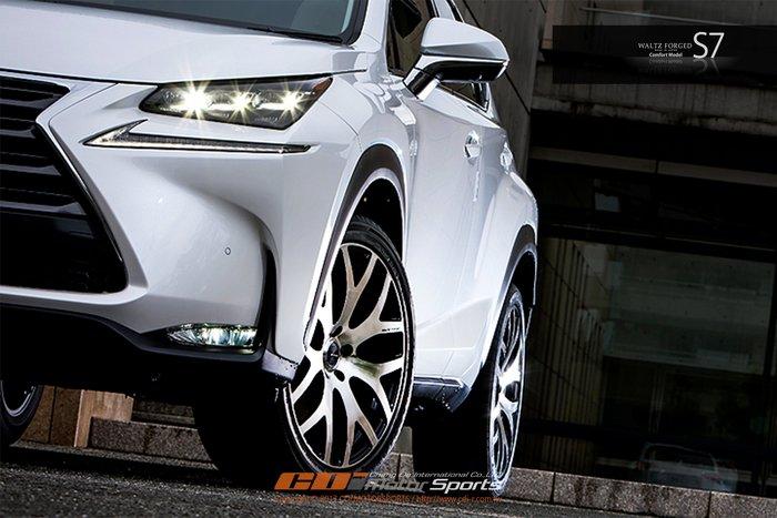 RAYS WALTZ FORGED S7 Comfort model 鍛造鋁圈 經典再進化 5x114.3 / 制動改