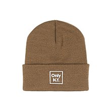 ~Nightmare ~ONLY NY Cube Logo Beanie ~ Coyote