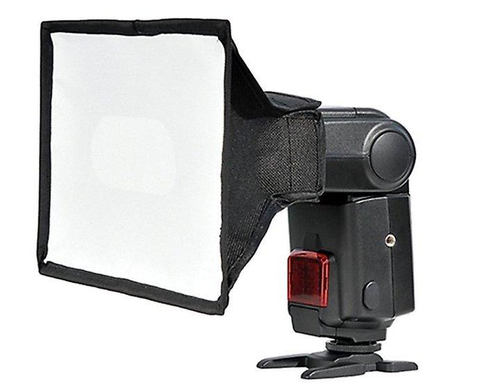 呈現攝影-Godox 專業閃光燈柔光罩[大型] SB20x30cm 收納方便 機頂通用型 離機閃
