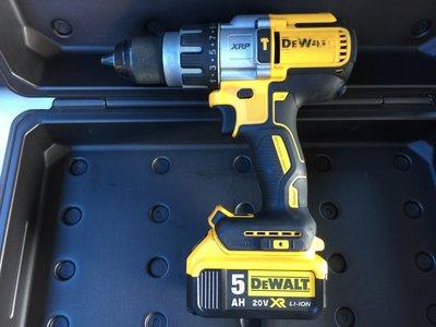 (阿賢外匯工具) 美國 得偉 DEWALT 20V DCD996 796 鋰電  無刷 震動電鑽 / 4.0Ah 雙鋰電