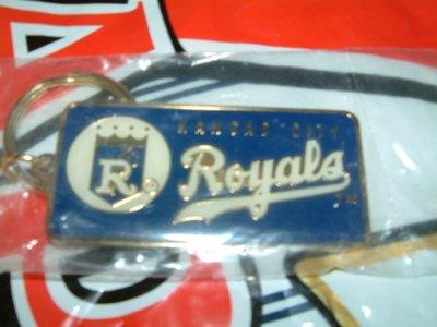 貳拾肆棒球-美國帶回美職棒大聯盟MLB堪薩斯皇家隊鑰匙扣鑰匙圈