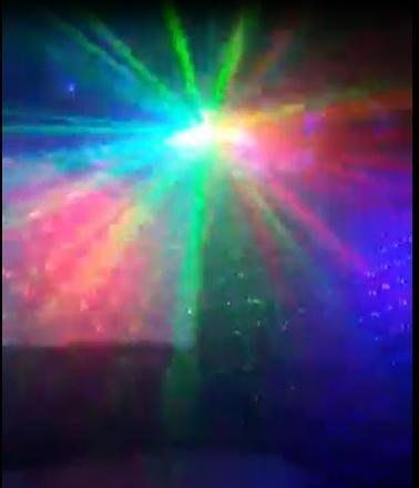 雷射舞台燈光/八爪魚LED+雷射燈