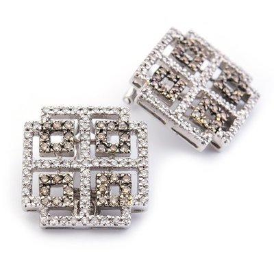 【JHT金宏總珠寶/GIA鑽石專賣】天然鑽石耳環耳夾/材質:18K( JB28-A10 )