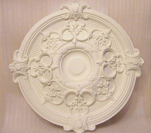 歐洲宮廷藝術精品- - 維多利亞 巴洛克    立體浮雕PU燈座白色底漆PO-32344  $899