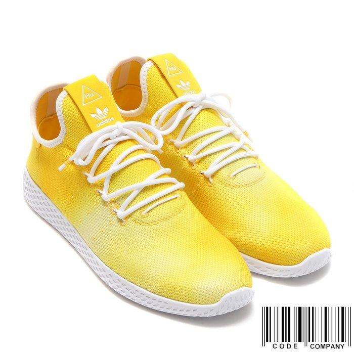 =CodE= ADIDAS PW HU HOLI TENNIS HU 渲染網球鞋(黃白)DA9617 菲董 男女 SAL