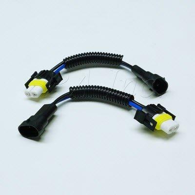 【PA LED】H11 H8 霧燈 大燈 重機 汽車 貨車 通用  耐高溫 陶瓷燈座 高瓦數燈泡必備 加粗線組 對接式