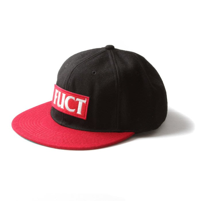 《Nightmare 》FUCT SSDD RED LOGO WOOL CAP - RED
