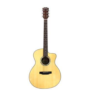 【金聲樂器】Woodtone- GA40C 面單板 (附原廠琴袋)