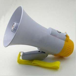 小羅玩具批發-大聲公可錄音大聲公 擴音器 喊話器 音樂錄音重覆播放 可調音量 附專用充電電池(XB-18S)