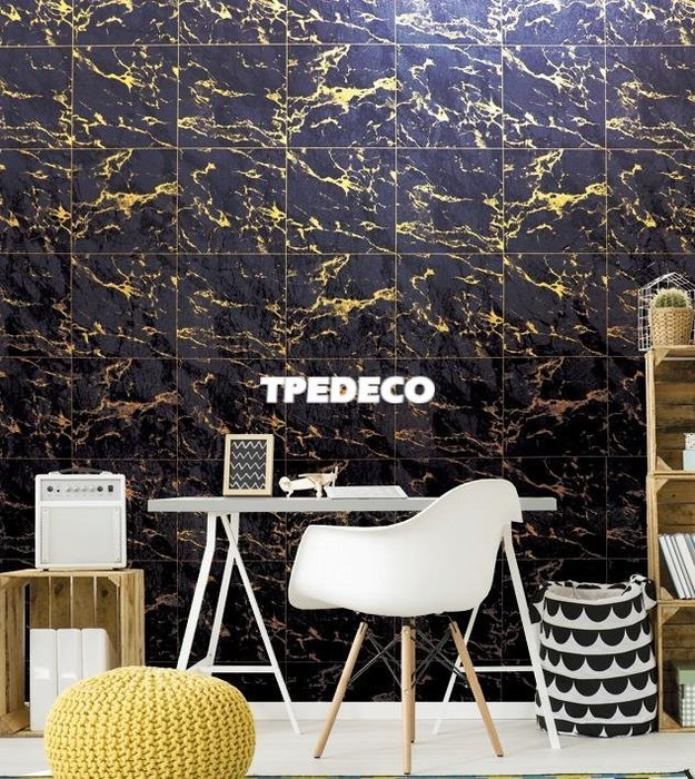 【大台北裝潢】PT馬來西亞現貨壁紙* 環保建材 仿建材 大理石方格(2色) 每支580元