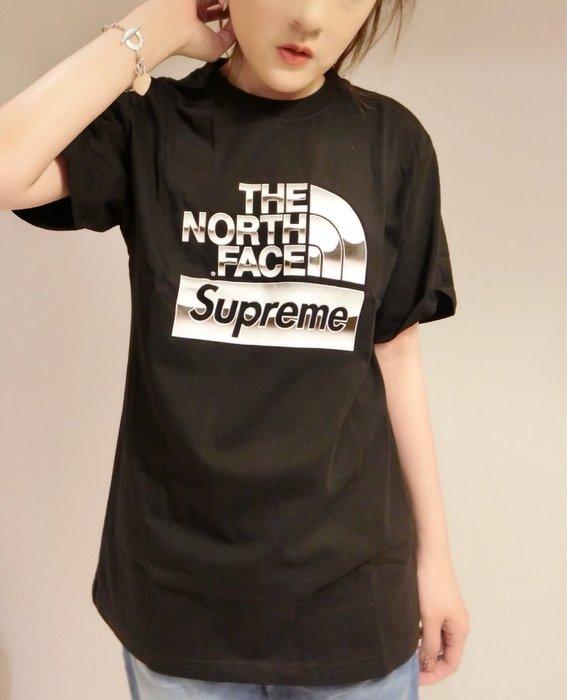 THE NORTH FACE X Supreme聯名系列 t-shirt 男女可穿