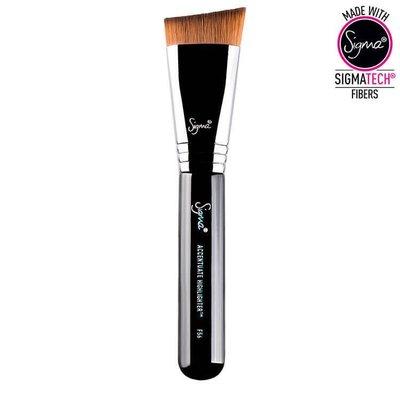 【愛來客】☆美國Sigma授權經銷商☆PRODUCT CODE F56 - 化妝刷粉底液刷 / 膏狀修容刷