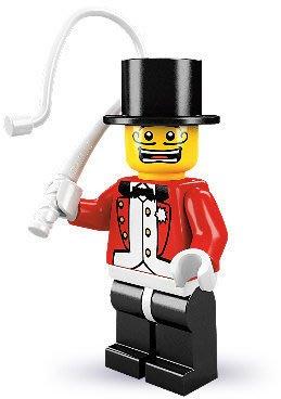 絕版品【LEGO 樂高】積木/ Minifigures人偶系列: 2代人偶包抽抽樂 8684 | #3 馬戲團訓獸師
