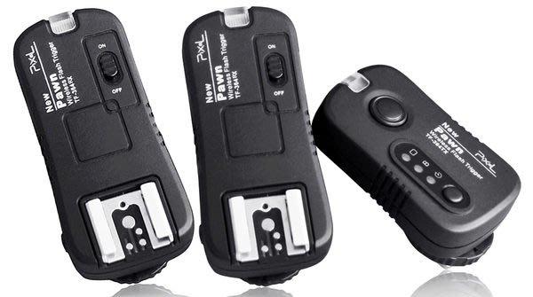 呈現攝影-品色 TF-364無線快門+無線閃燈觸發器2.4G Olympus Panasonic GF1一對二 NCC認證