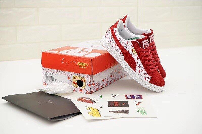 Hello Kitty x Puma Suede Classic 板鞋 366306-01 尺碼 35-39