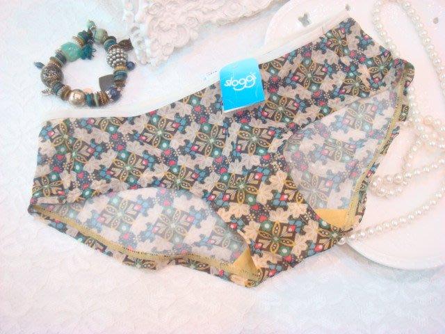 拜金的店 黛安芬內褲 Sloggi ( M 號) 74-4749 黃色