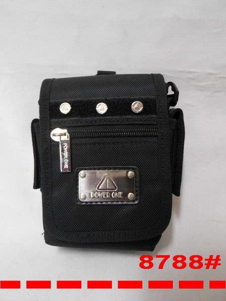 @【 乖乖的家】~~(耐用型)【POWER ONE 】腰掛包、斜背包、手機袋、相機包~~特價350元 #8788
